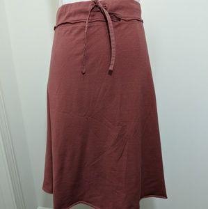 J. Jill Rose Pink Jersey Skirt XL